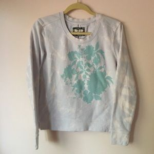 Pure + Good printed bleach sweater